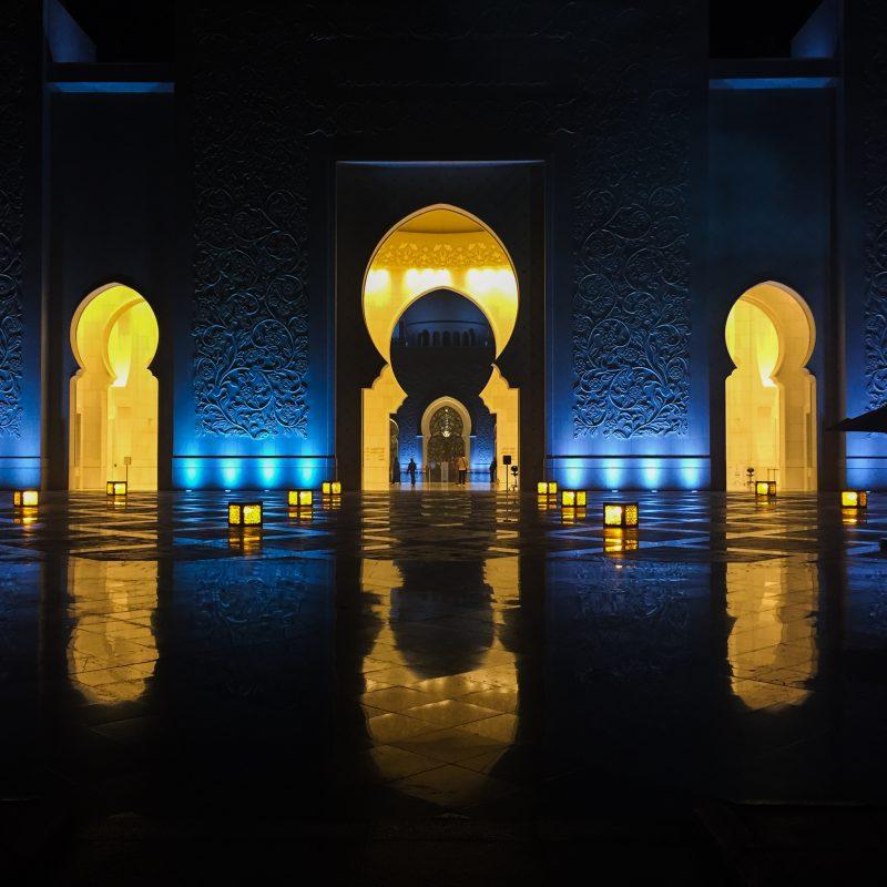 Come Vive Viaja blog de recetas saludables y viajes foto mezquita sultán Abu Dhabi