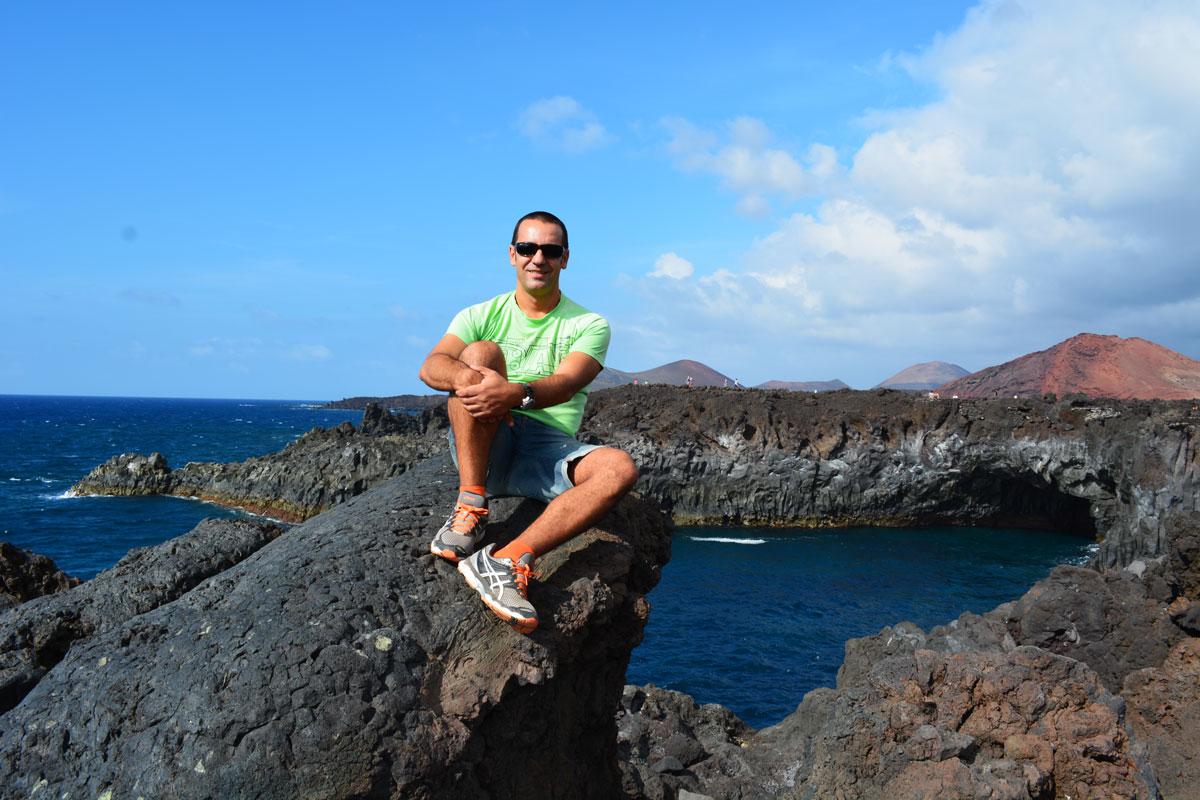 Itinerario de viaje en Lanzarote. Ruta una semana. Hervideros