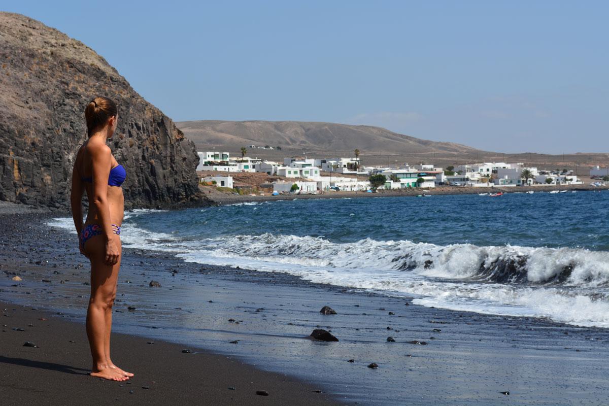 Itinerario de viaje en Lanzarote. Ruta una semana. Playa Quemada
