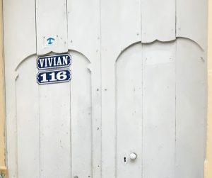 Alojamiento en Cuba Ancla azul puerta alojamiento particular