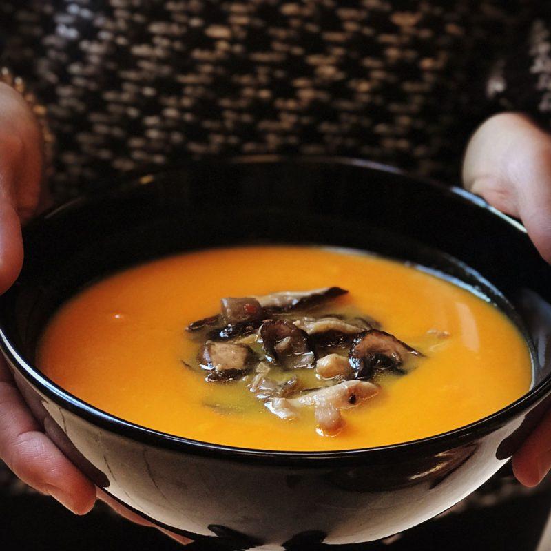 Come vive Viaja blog recetas crema de calabaza y jengibre