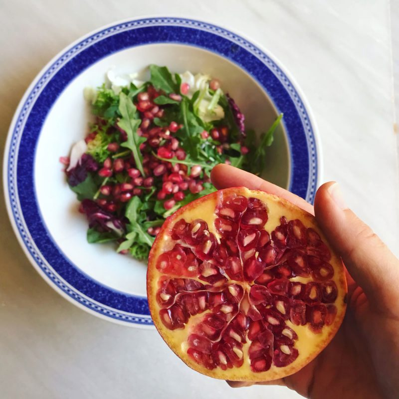 receta Come Vive viaja ensalada de granada