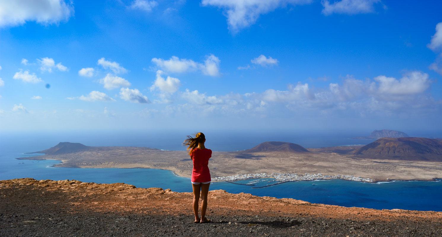 Itinerario de viaje en Lanzarote. Ruta una semana. Mirador del Río