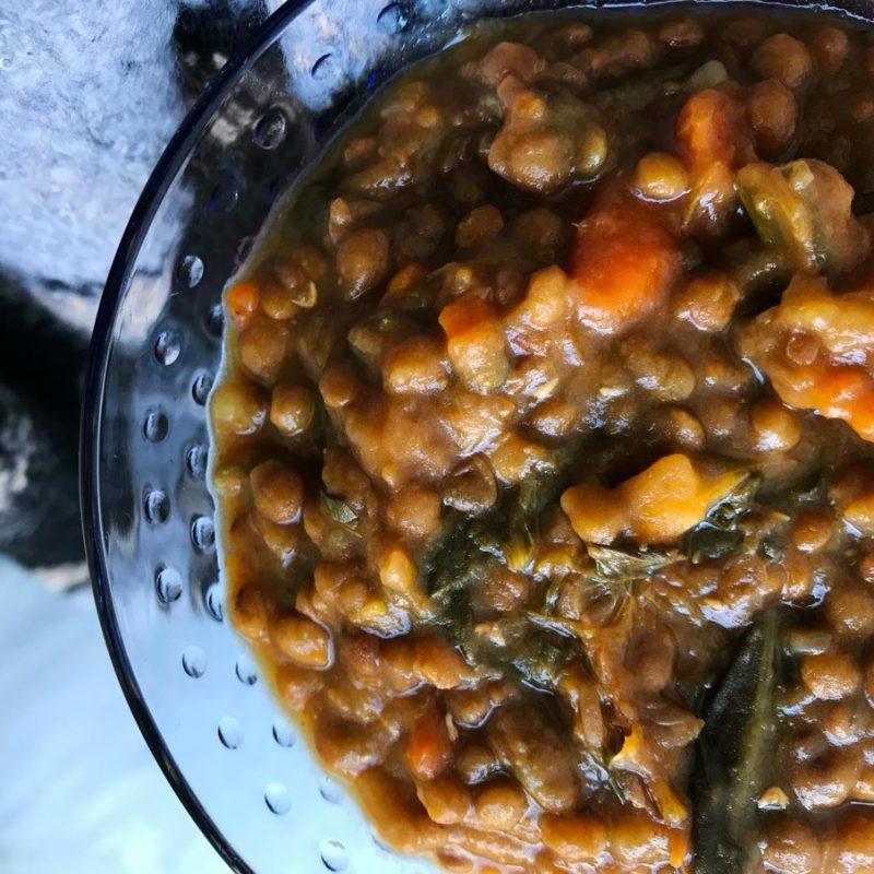 Come Vive Viaja blog recetas lentejas con verduras Thermomix