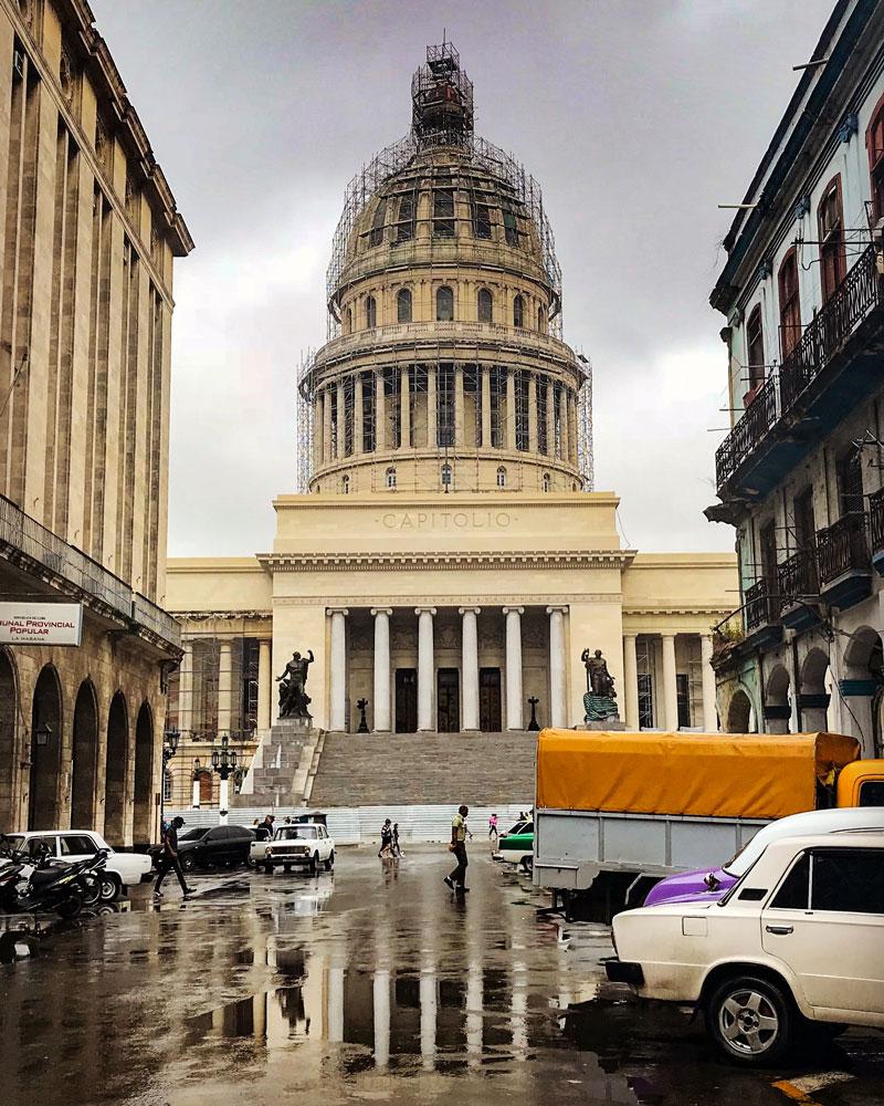 Itinerario 15 días Cuba ruta Capitolio de La Habana. Itinerario Cuba