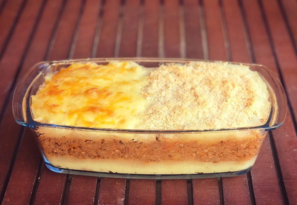 Come Vive Viaja Receta pastel de patata no carne vegano vegetal