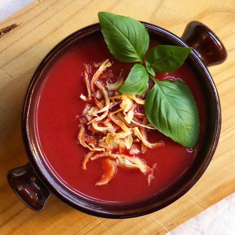 Come Vive Viaja blog recetas sopa de tomate