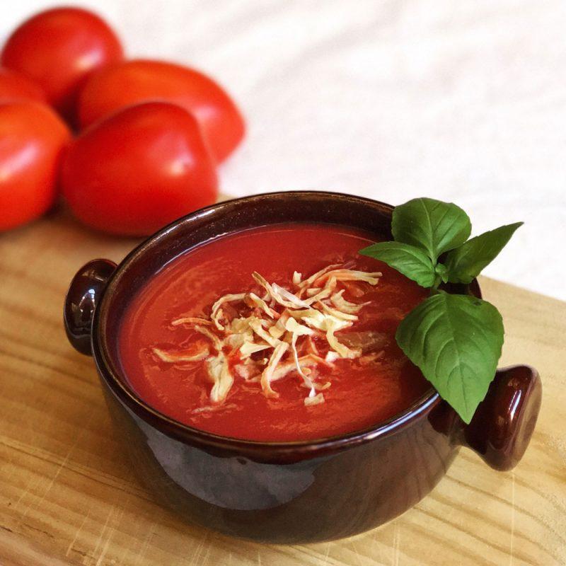 sopa de tomate receta come vive viaja