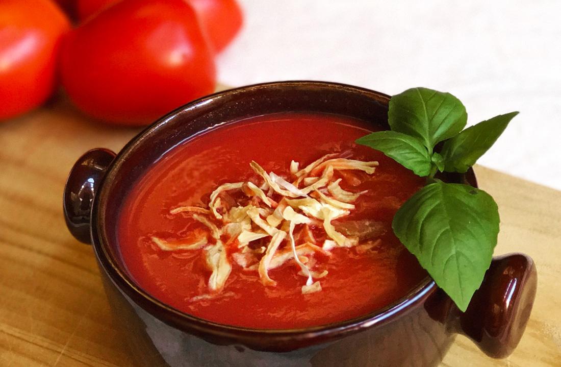 sopa de tomate come vive viaja receta