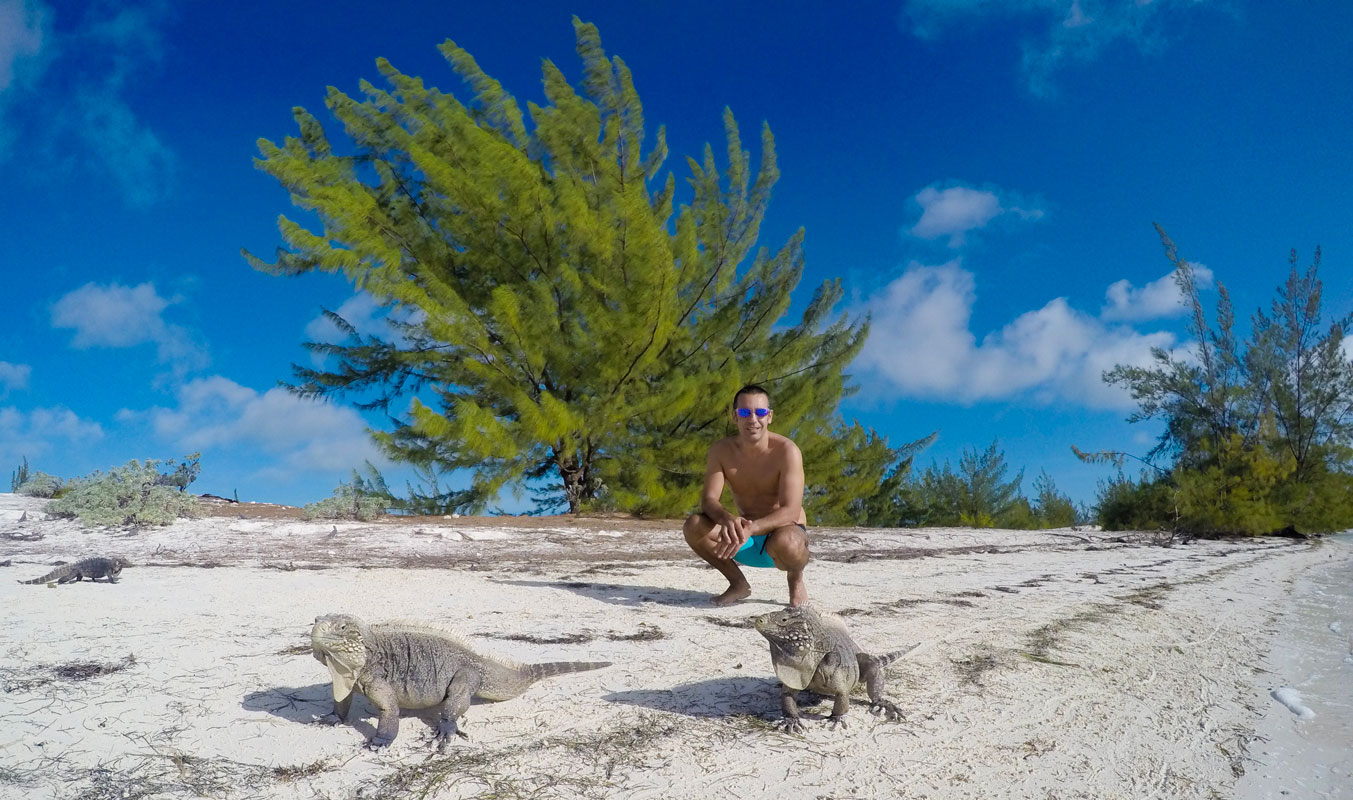 Isla de las Iguanas. Excursión Cayo Largo del Sur. Cuba