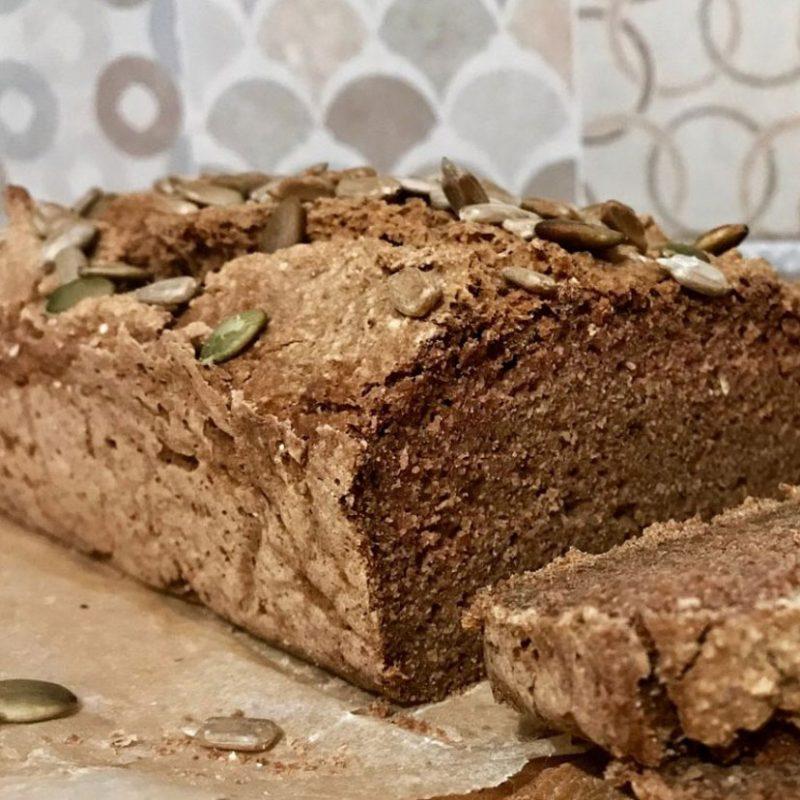 pan sin gluten de trigo sarraceno receta comeviveviaja