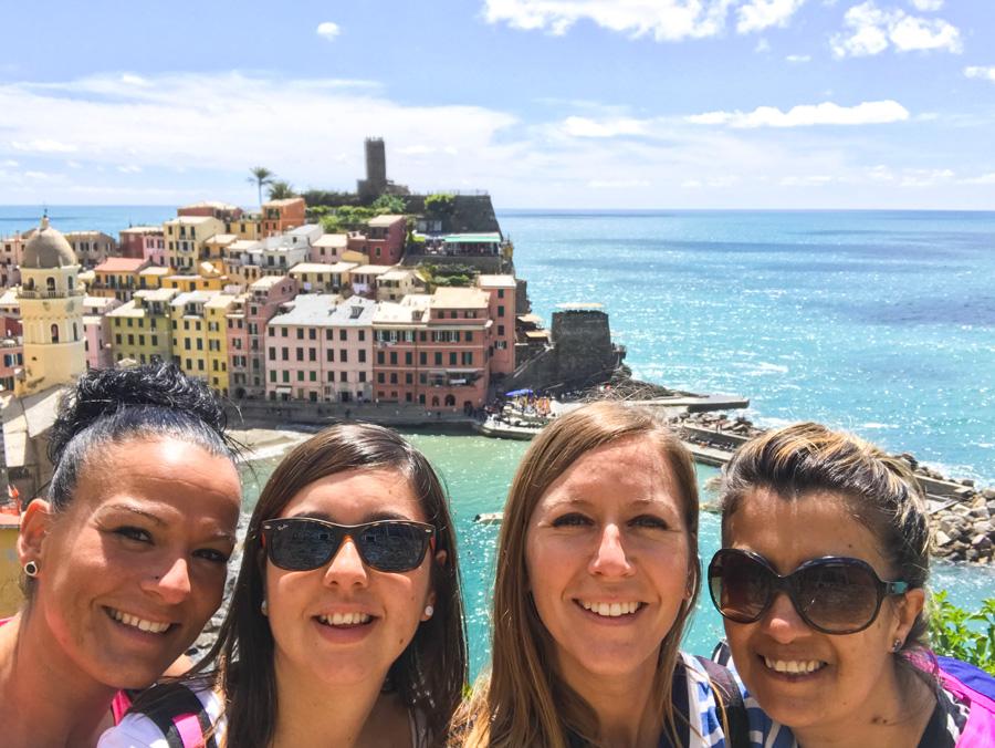 Cinque Terre. Qué ver y qué hacer. Come Vive Viaja Vernazza vistas mirador