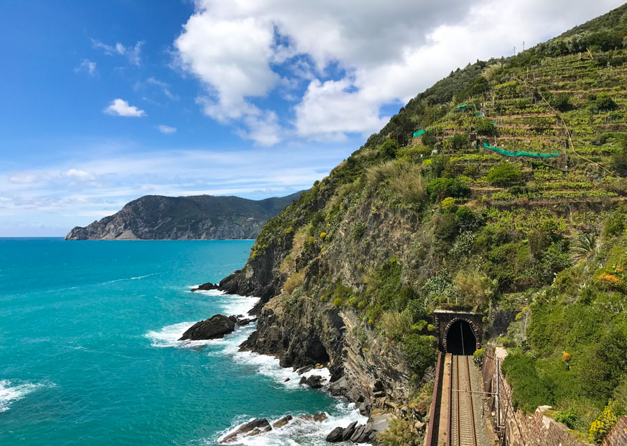 Cinque Terre. Qué ver y qué hacer. Come Vive Viaja tren