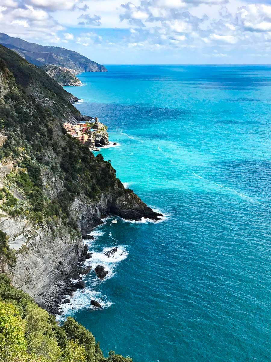 Cinque Terre. Qué ver y qué hacer. Come Vive Viaja ruta desde Vernazza mar