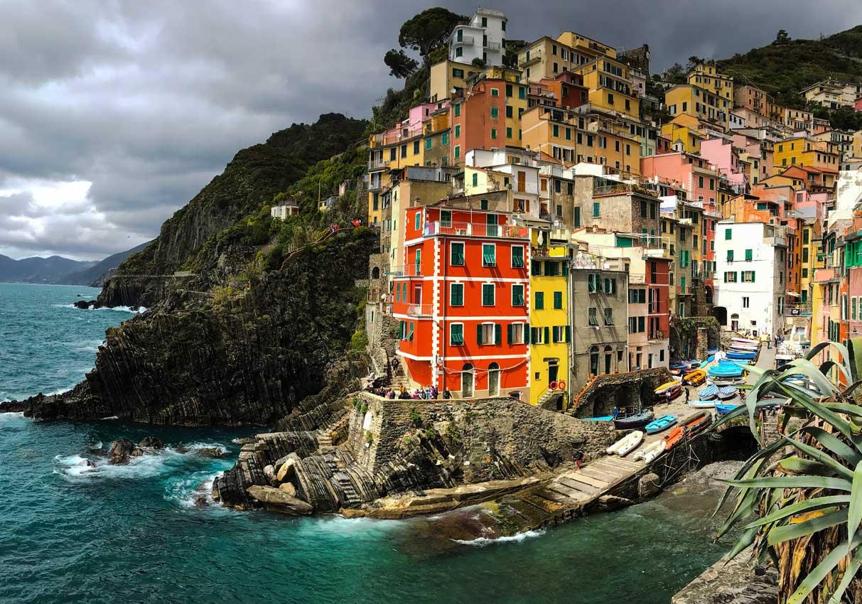 Cinque Terre. Qué ver y qué hacer. Come Vive Viaja Riomaggiore