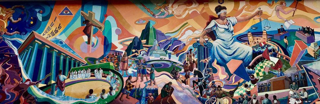 Itinerario Perú Come Vive Viaja mural justicia Cuzco blog viajes
