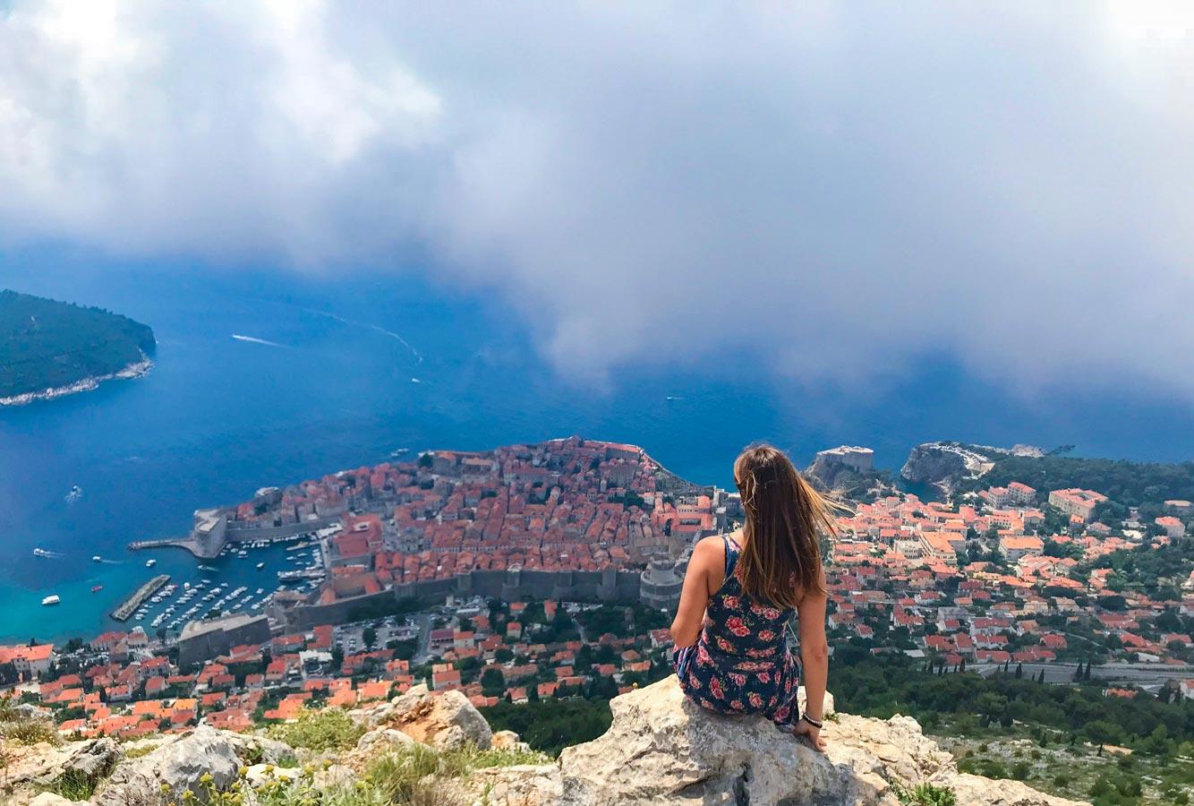 Itinerario Croacia 8 días mirador teleférico Dubrovnik blog viajes Come Vive Viaja