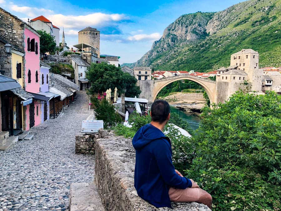 Itinerario Croacia 8 días Come Vive Viaja Road Trip blog viajes Mostar Puente Viejo