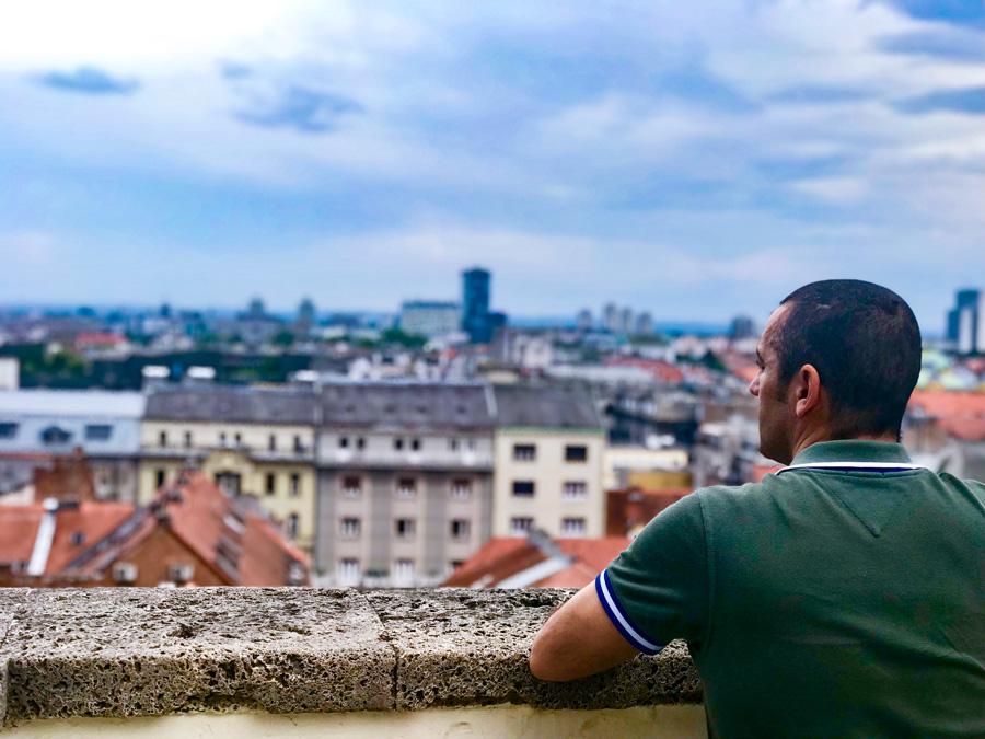 Itinerario Croacia 8 días Zagreb mirador Come Vive Viaja blog viajes