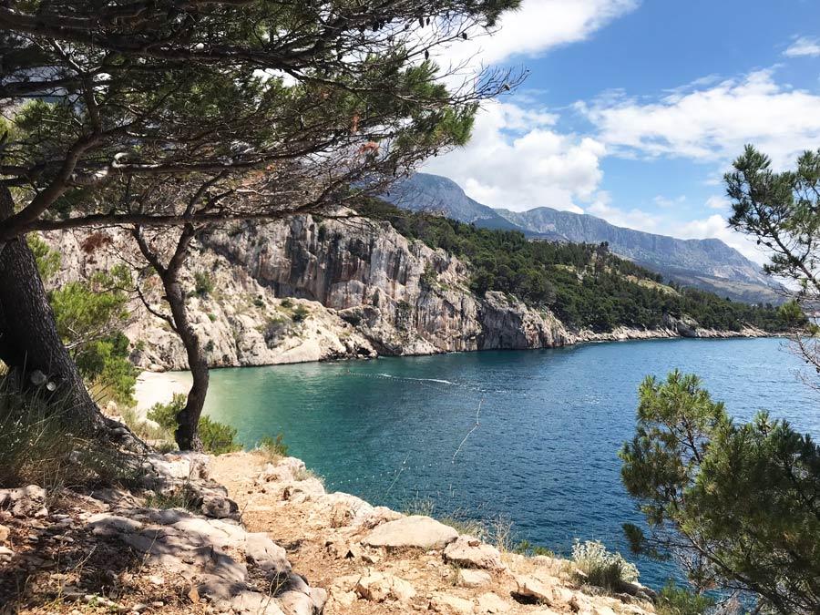 La mejor playa de Croacia. Nugal Beach Come Vive Viaja Blog Viajes paisaje