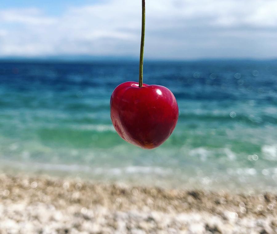 La mejor playa de Croacia. Nugal Beach Come Vive Viaja Blog Viajes