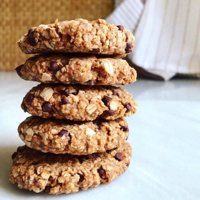 Cookies de avena healthy saludable sin gluten galletas Come Vive Viaja