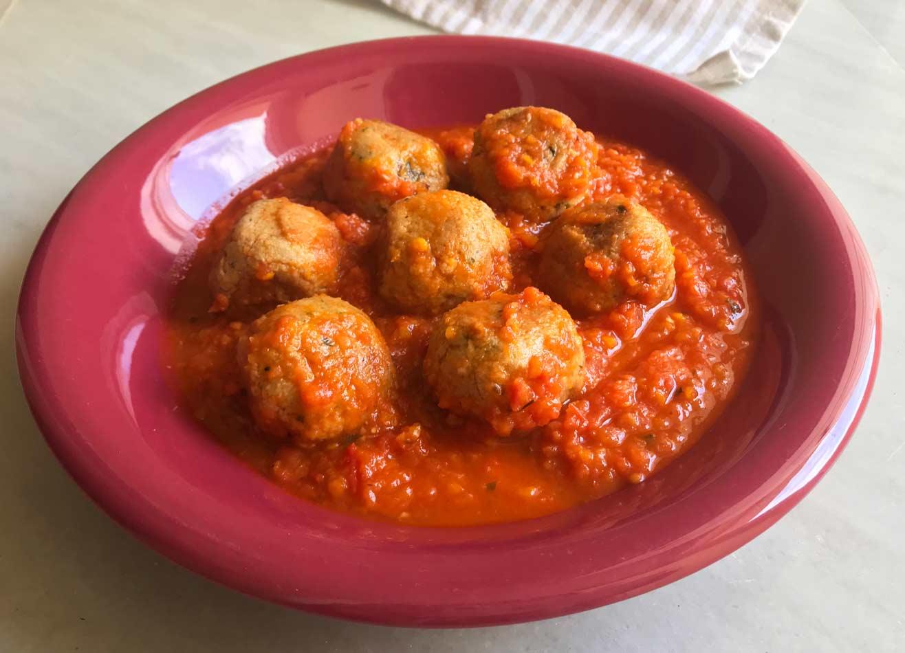 Come Vive Viaja Blog recetas Irene albóndigas de soja texturizada rápida cómo cocinar receta