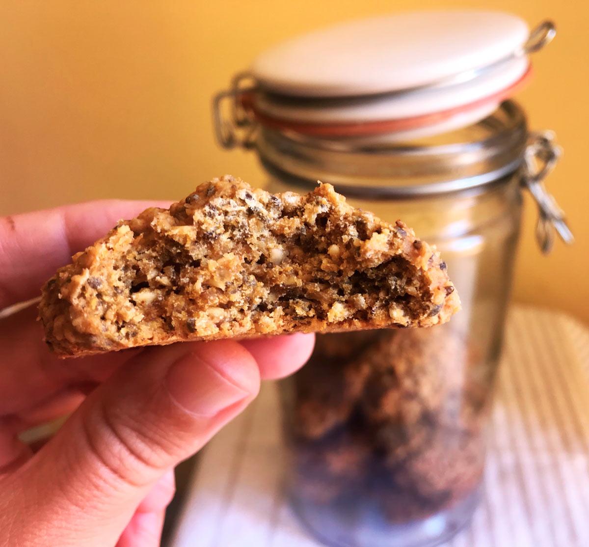 cookies de calabaza galletas come vive viaja blog receta dulce