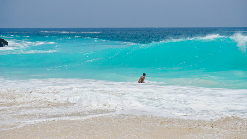 Itinerario Indonesia Ruta Qué visitar Blog Viajes Come Vive Viaja Kelingking Beach Nusa Penida Bali