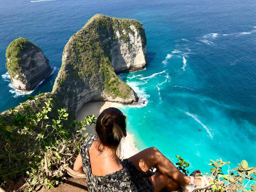 mejor playa Blog Viajes Come Vive Viaja Kelingking Beach Nusa Penida Bali
