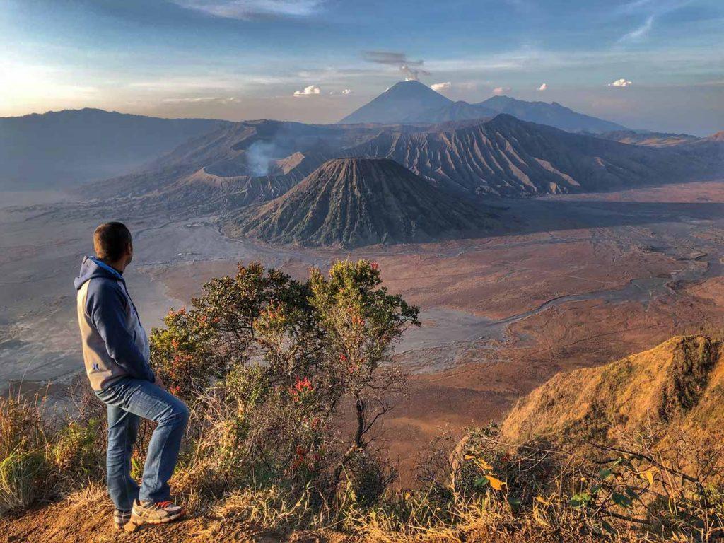 Itinerario Indonesia Ruta Qué visitar Volcán Bromo mirador Blog Viajes Come Vive Viaja