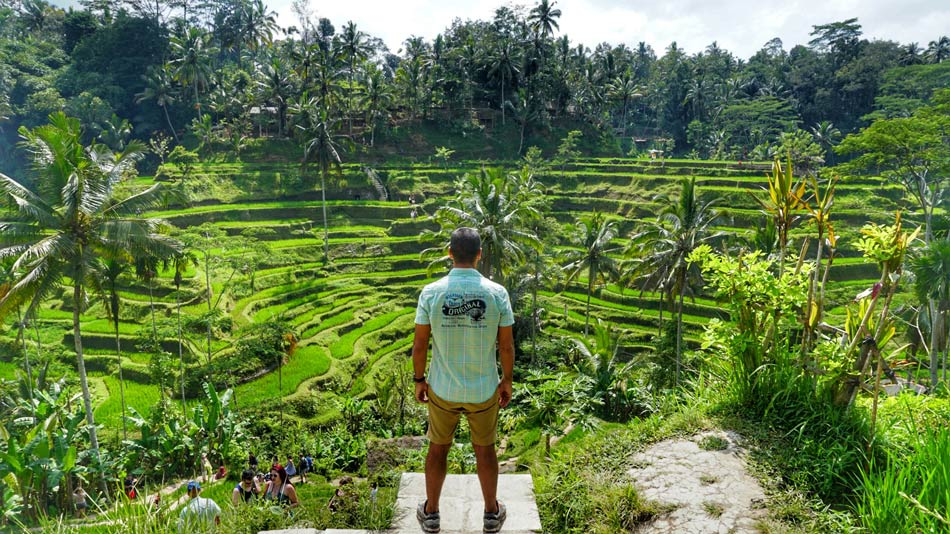 Cómo organizar tu viaje por libre a Indonesia. Preparativos Tegalalang Bali Come Vive Viaja