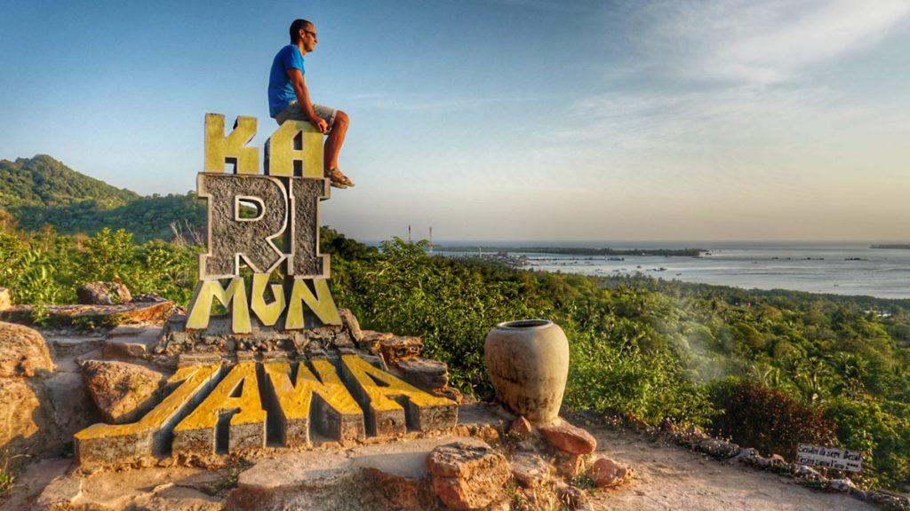 el paraíso isla Indonesia Qué ver Pukit Love Karimunjawa
