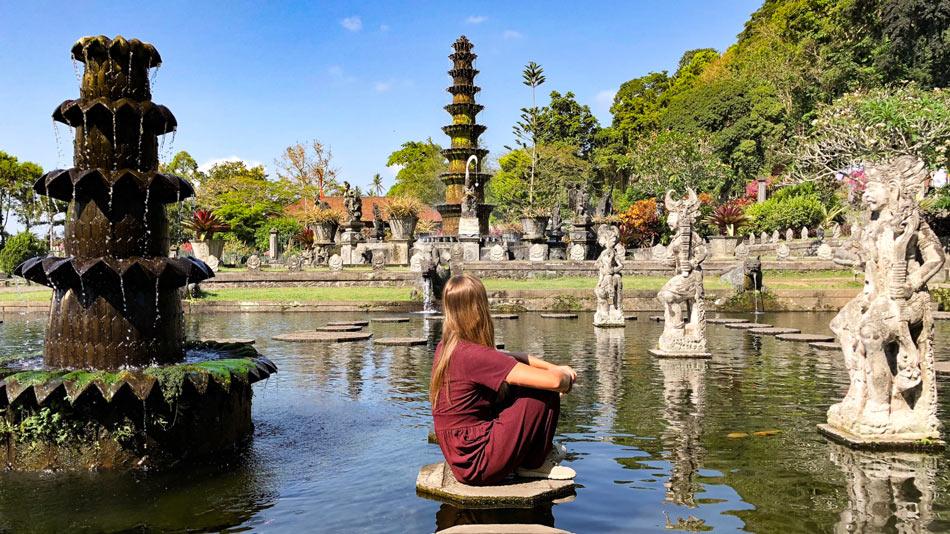 Bali Qué ver Palacio del Agua Tirta Gangga