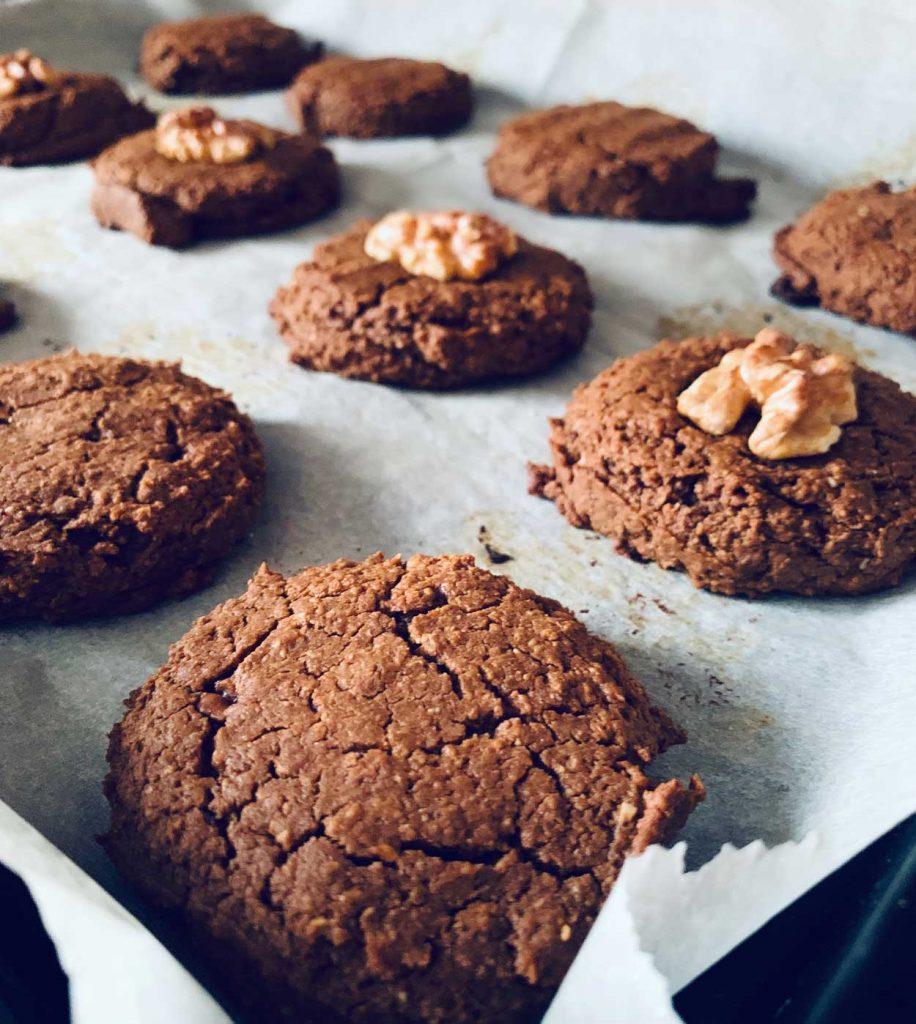 Galletas de garbanzos cacao y chocolate fit light proteínas