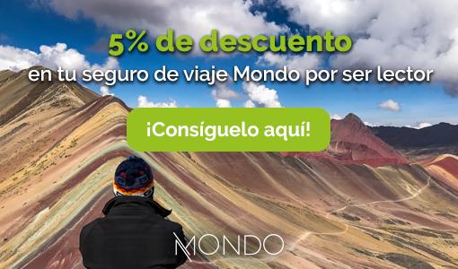 Descuento seguro de viajes Mondo el mejor seguro contratar Irene Come Vive Viaja