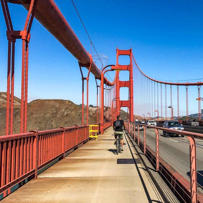 Cruzar el Golden Gate en bicicleta- dónde alquilar la bici San Francisco