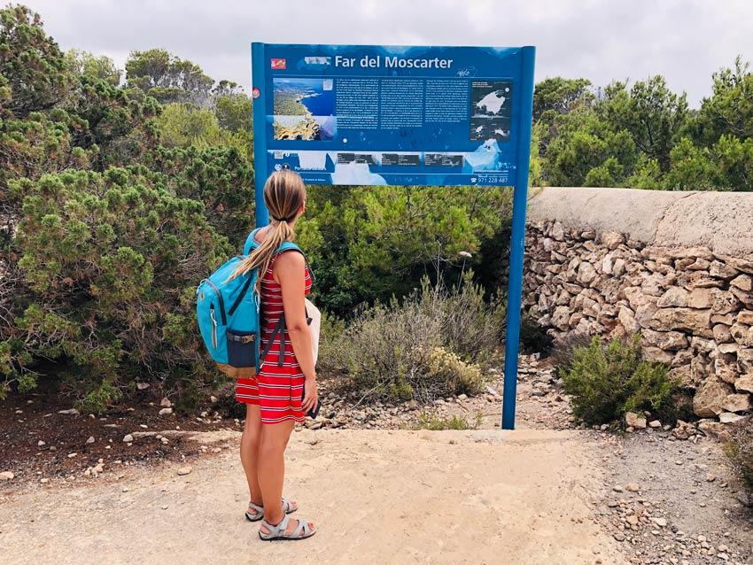 Faro de Punta Moscarter. Cómo llegar. Excursión diferente. Ibiza