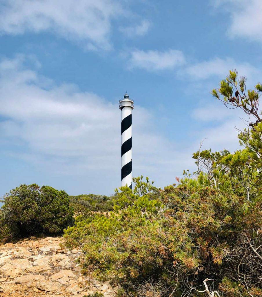 Faro de Punta Moscarter. Cómo llegar. Camino