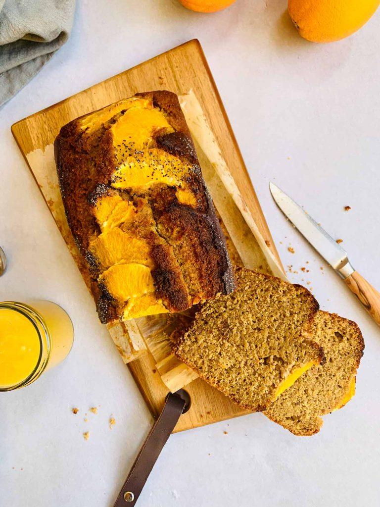 Bizcocho de naranja sin gluten rápido fácil esponjosoreceta Come Vive Viaja
