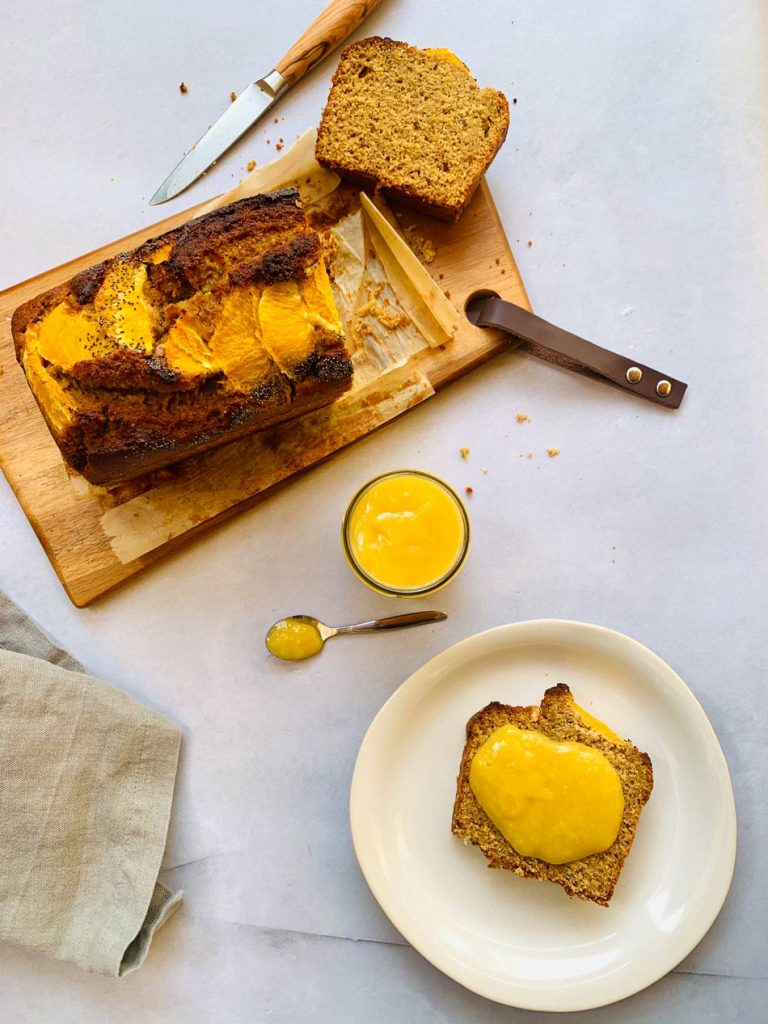 bizcocho de naranja sin gluten receta vegana fácil casera