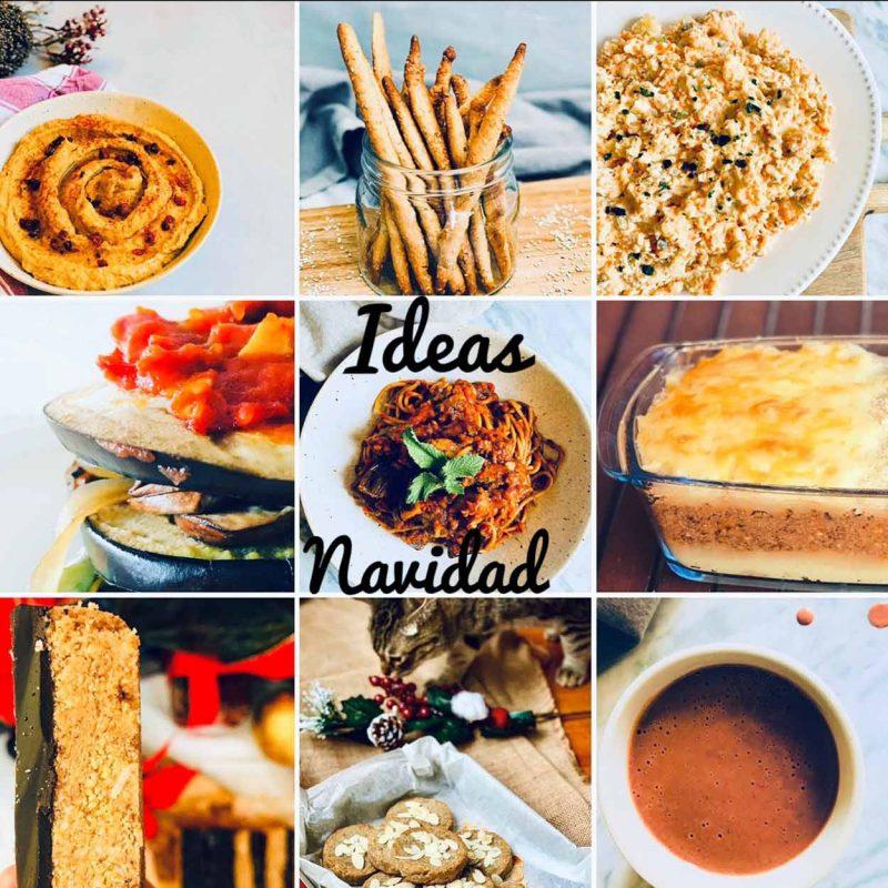 Ideas de recetas para Navidad y reuniones o picoteos con amigos saludables, fáciles, económicas. Recopilatorio