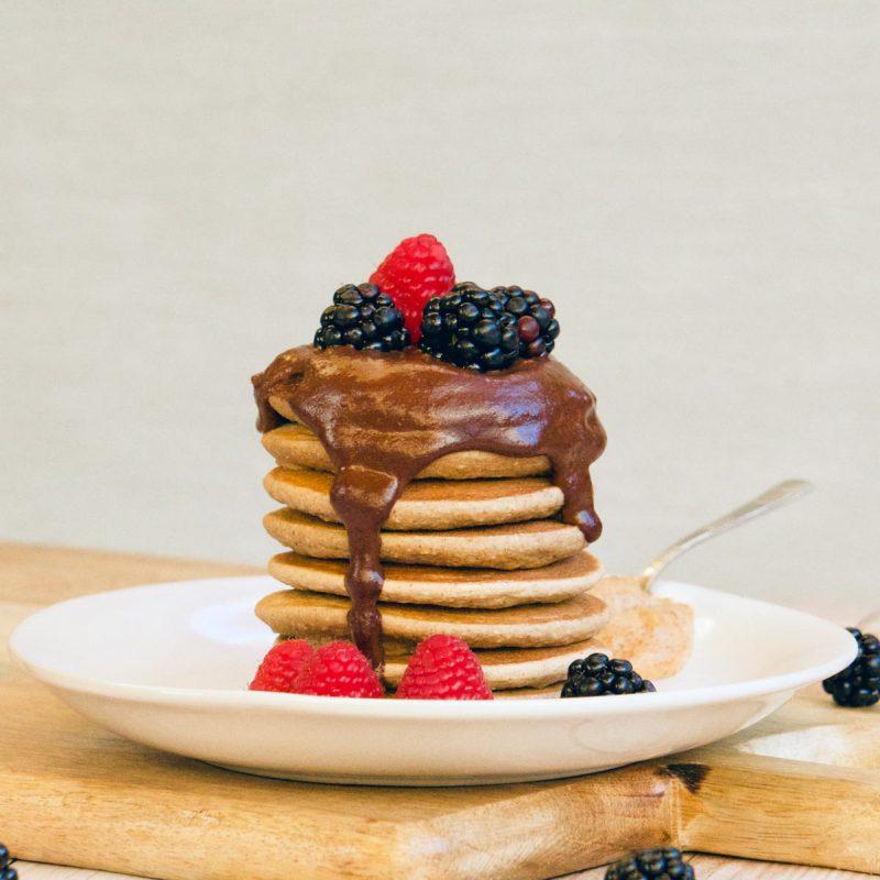 Cómo hacer tortitas, pancakes, receta, sin gluten, sin huevo, ingredientes, sin lactosa