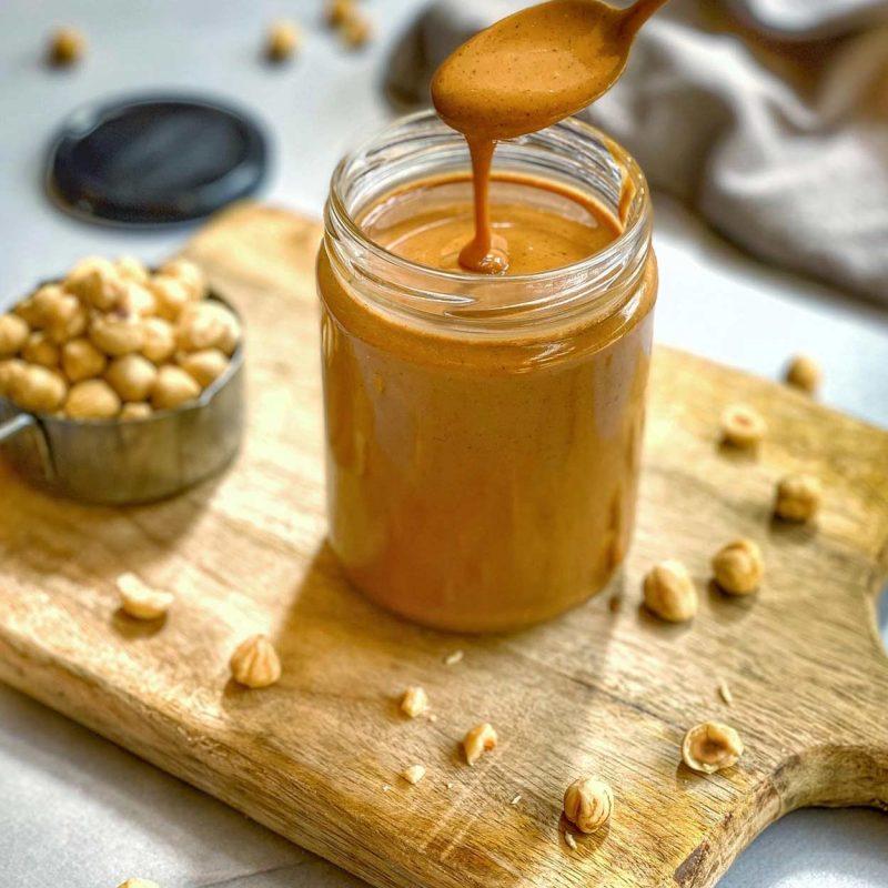 mantequilla de avellanas casera, saludable, crema, cómo hacer, receta, saludable, Come Vive Viaja