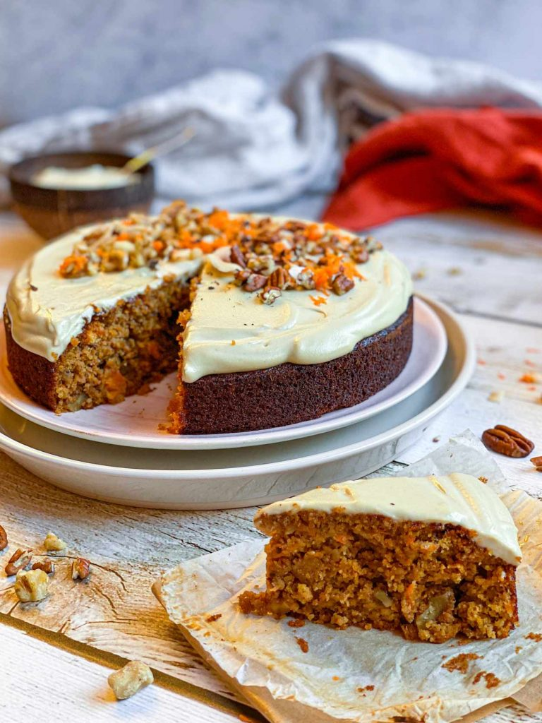 Carrot Cake, tu tarta de zanahoria saludable y sin azúcar