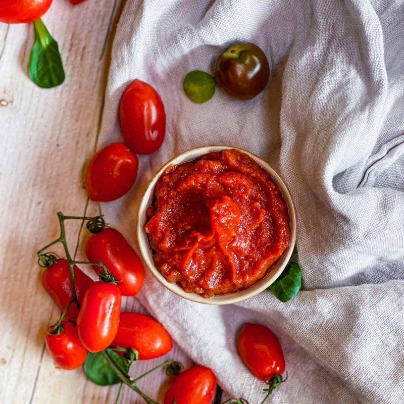 Ketchup casero sin azúcar en 2 minutos Come Vive Viaja