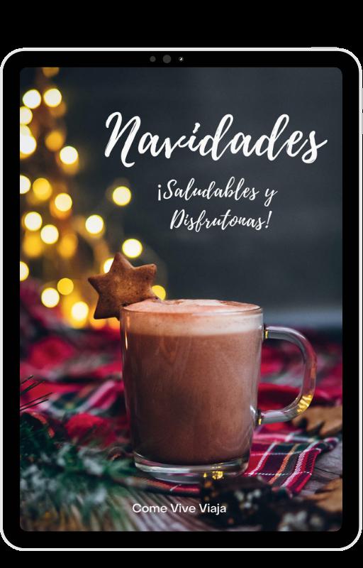 Ebook Navidades Saludables y Disfrutonas recetas sanas