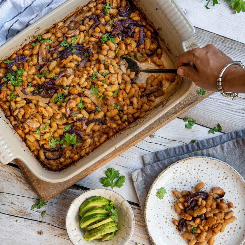 Alubias agridulces legumbres original receta divertida Come Vive viaja